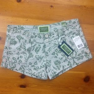 U.S. Polo Assn. Cotton Patterned Shorts Brand New!